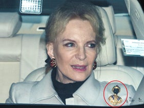Princess Michael of Kent and the infamous brooch.