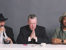 A Priest, Rabbi, and Atheist Smoke Weed Together