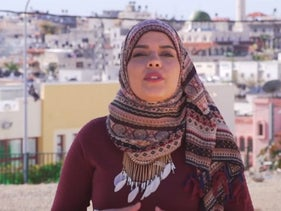 Journalist Samah Wattad, who was suspended from her job with Israel's new public broadcasting corporation, Kan.
