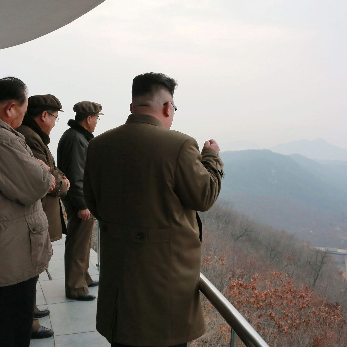 North Korean leader Kim Jong Un watched the ground jet test of a Korean-style high-thrust engine newly developed by the Academy of the National Defence Science in this undated picture provided by KCNA in Pyongyang on March 19, 2017. KCNA/via ReutersATTENTION EDITORS - THIS PICTURE WAS PROVIDED BY A THIRD PARTY. REUTERS IS UNABLE TO INDEPENDENTLY VERIFY THE AUTHENTICITY, CONTENT, LOCATION OR DATE OF THIS IMAGE. SOUTH KOREA OUT. NO THIRD PARTY SALES. NOT FOR USE BY REUTERS THIRD PARTY DISTRIBUTORS.ֺ TPX IMAGES OF THE DAY