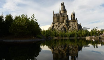 File photo: The Wizarding World of Harry Potter at Universal Studios Japan.  Aug. 7, 2014.