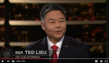 California Congressman Ted Lieu on HBO's 'Real Time with Bill Maher.'