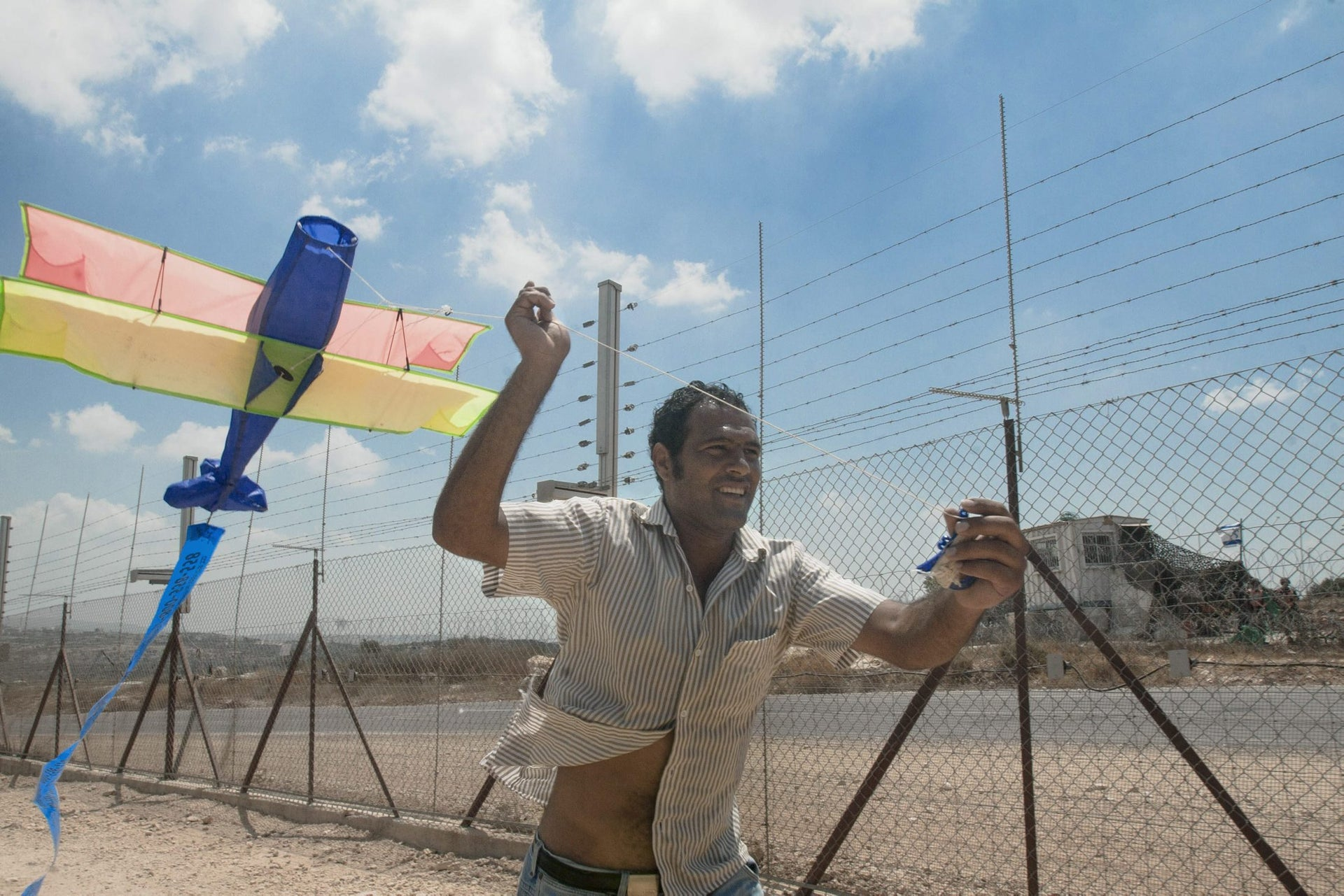 A photo of late Palestinian activist Bassem Ibrahim Abu Rahmah, from 'Activestills: Photography as Protest in Palestine/Israel.'