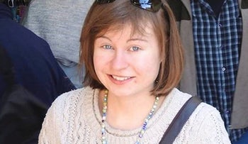 This undated image released Saturday, April 15, 2017 by the British Foreign And Commonwealth Office shows British tourist Hannah Bladon, who was stabbed to death in Jerusalem on Good Friday.