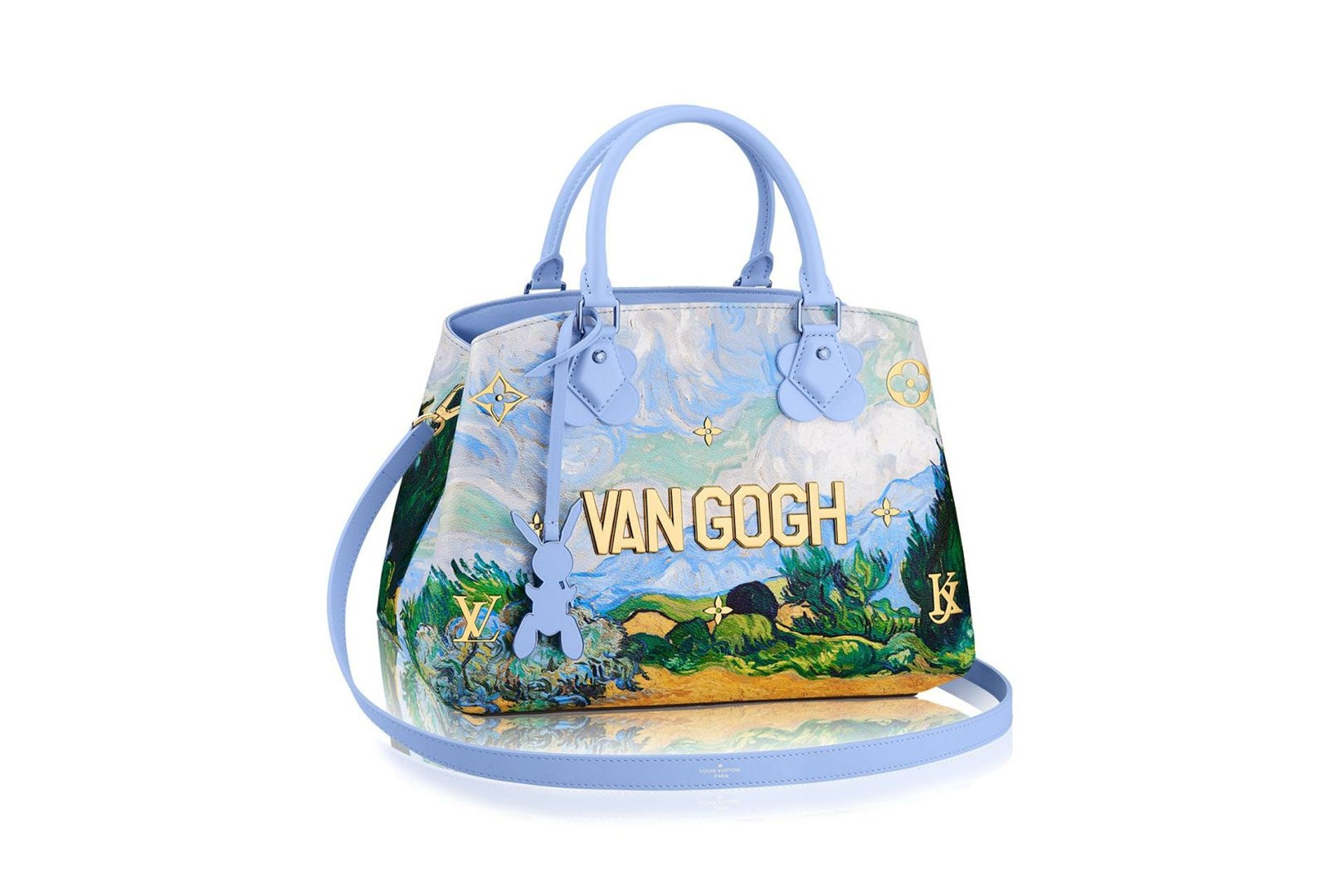"""The Van Gogh bag. This """"Neverfull MM"""" version retails for $3,200."""