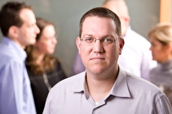 Ronen Nir, a partner at Carmel Ventures.