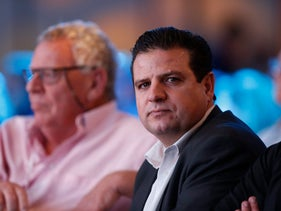 Joint List party leader MK Ayman Odeh at the 2015 Israel Conference on Peace.