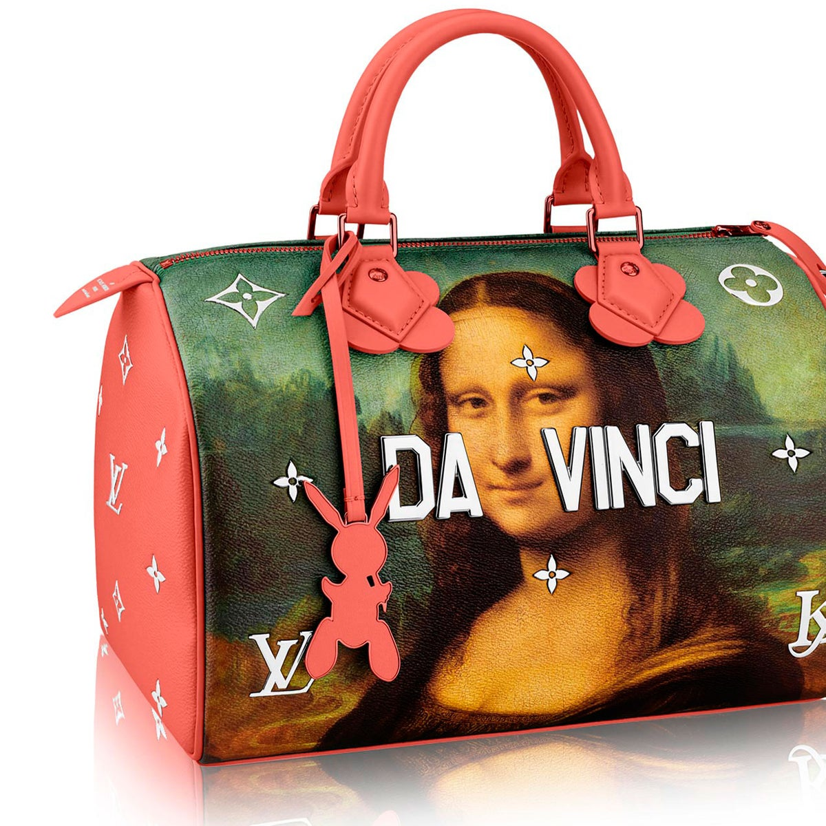 """The Da Vinci bag from the Jeff Koons-Louis Vuitton """"Masters"""" collection"""