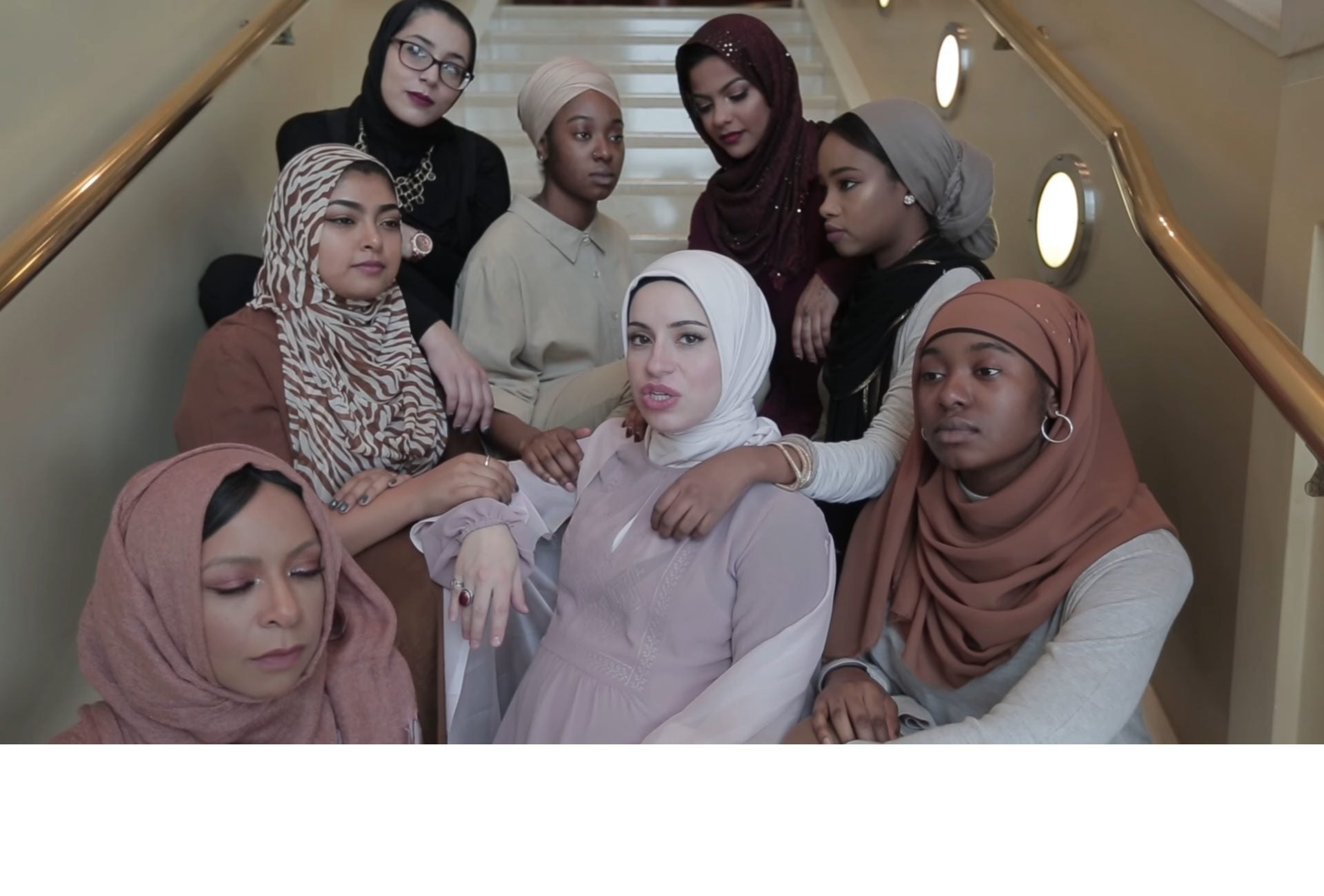 "From the music video ""Hijabi,"" by Mona Haydar."