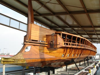 Olympias, a reconstruction of an ancient Athenian trireme