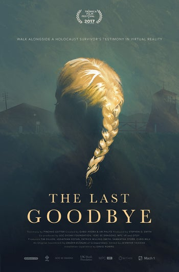 A poster for 'The Last Goodbye' virtual-reality project.