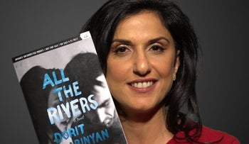 "Dorit Rabinyan reads ""All The Rivers"" for Haaretz"