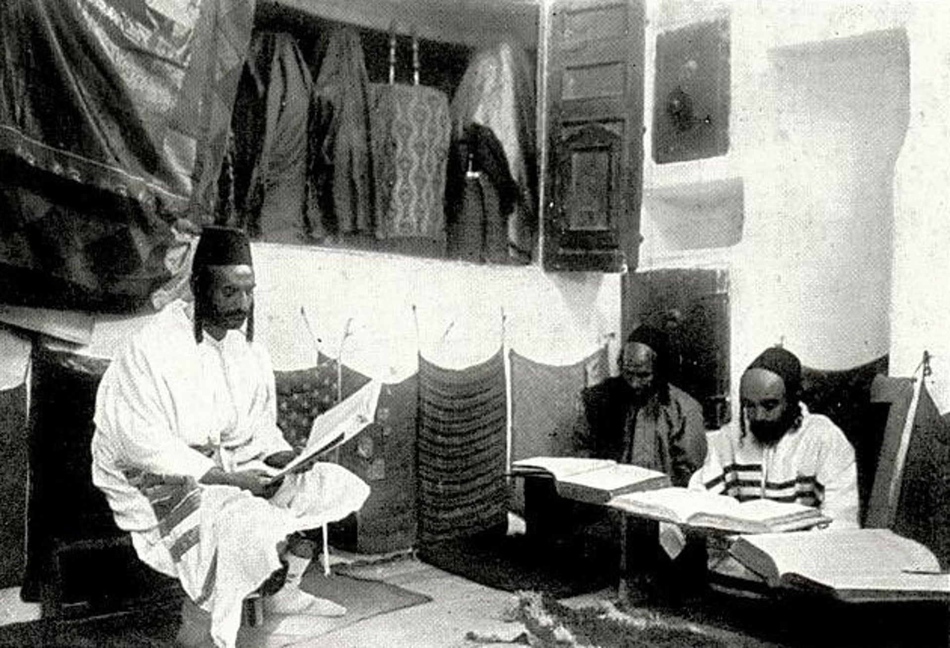 The synagogue of the Jewish community in Sana'a.