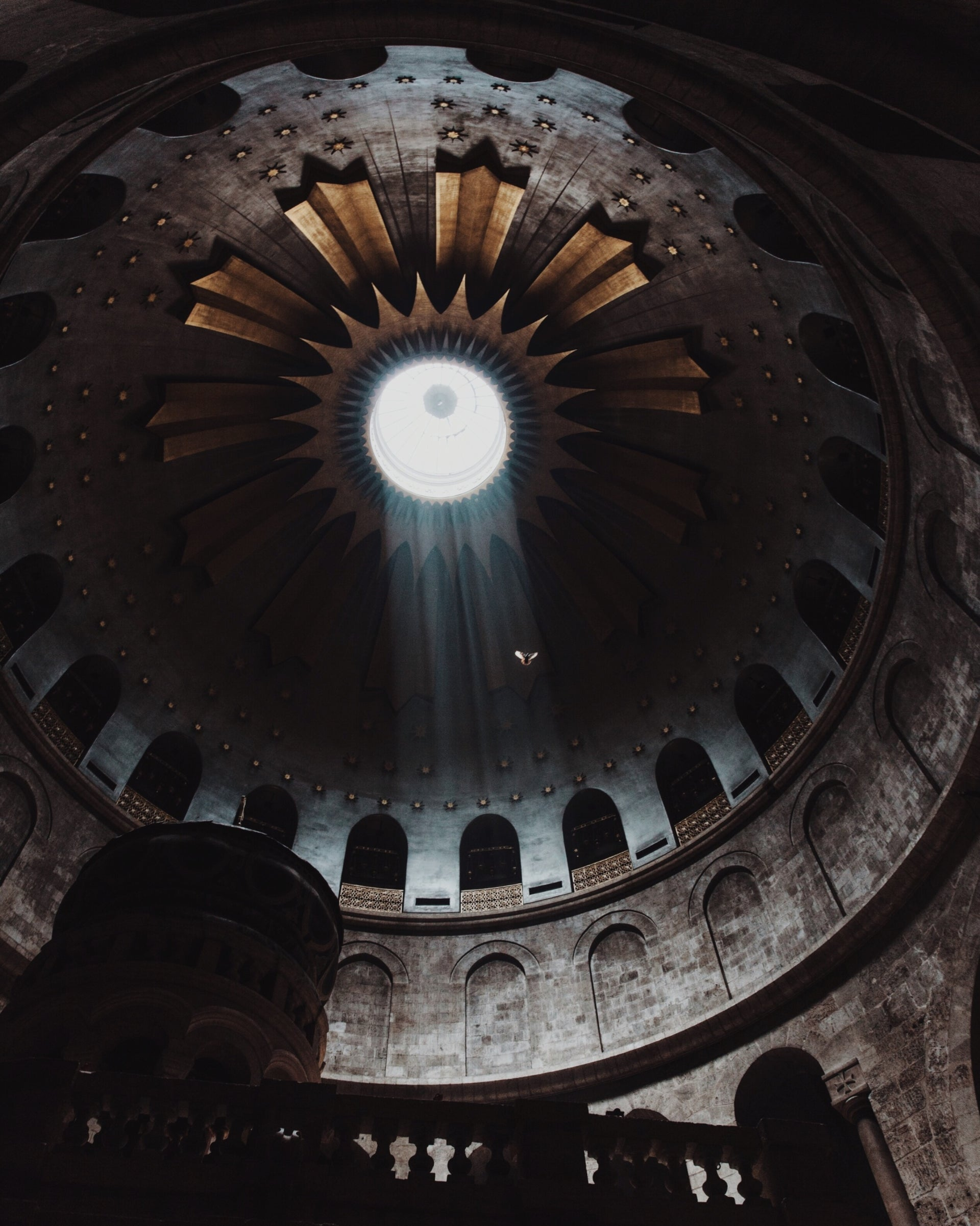 The Church of the Holy Sepulchre in Jerusalem's Old City.