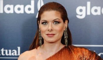 Debra Messing attends the 28th Annual GLAAD Media Awards on May 6, 2017 in New York