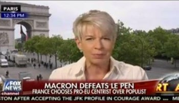 Katie Hopkins interviewed on the May 8 edition of Fox News' Fox & Friends