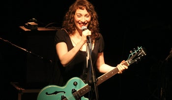 Regina Spektor in a 2011 performance in Tel Aviv.