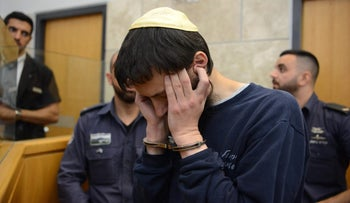 Meir Goldshtein in court on May 28, 2017