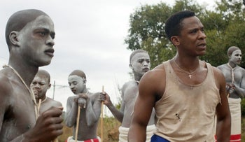 """A still from John Trengove's """"The Wound."""""""