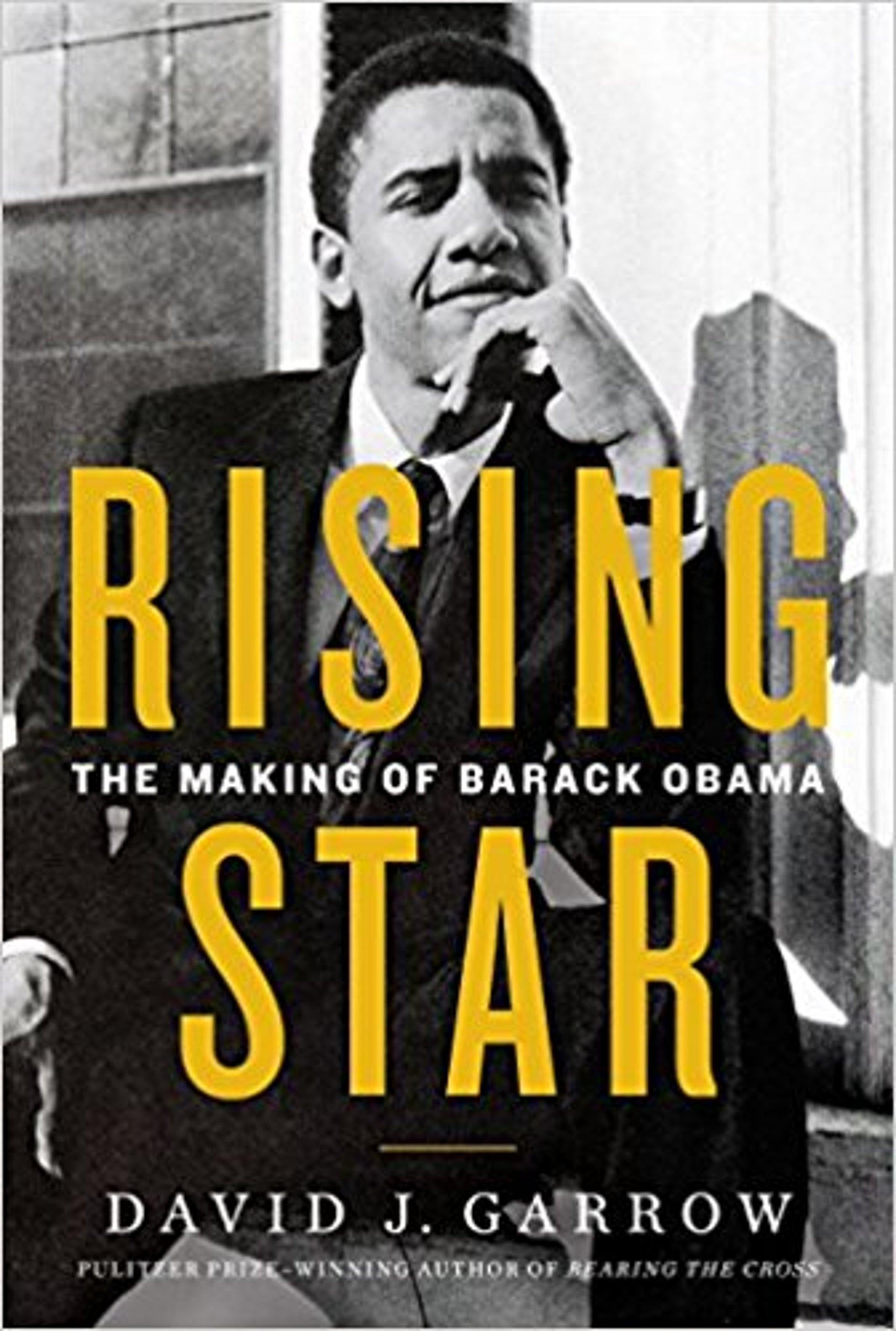 """The cover of """"Rising Star: The Making of Barack Obama."""""""