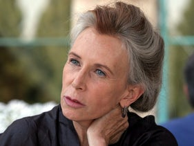 Catharine MacKinnon in Jerusalem, May 2008.