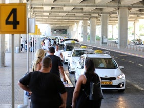 Taxis in Ben Gurion Airport