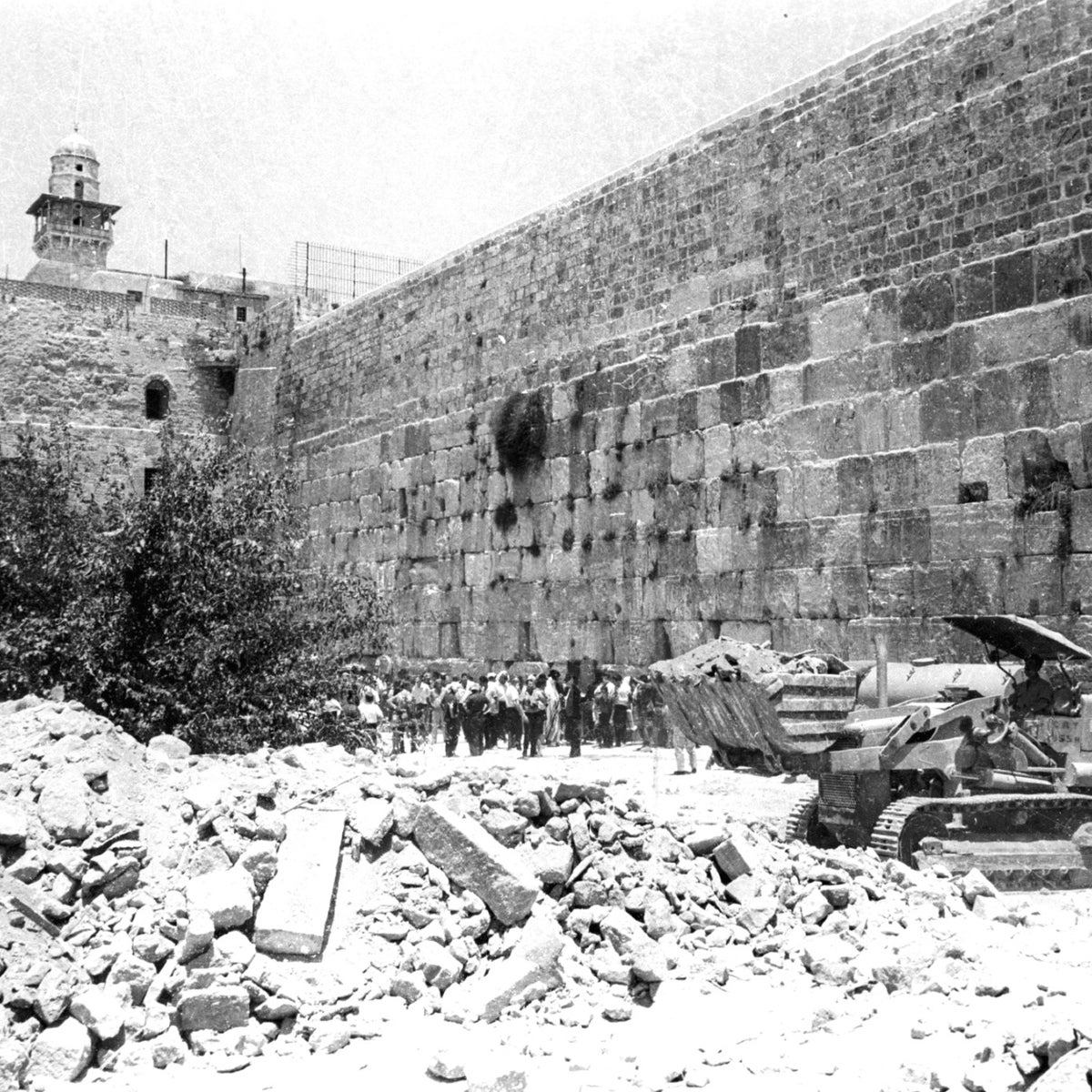 Demolition of the Mughrabi Quarter, 1967