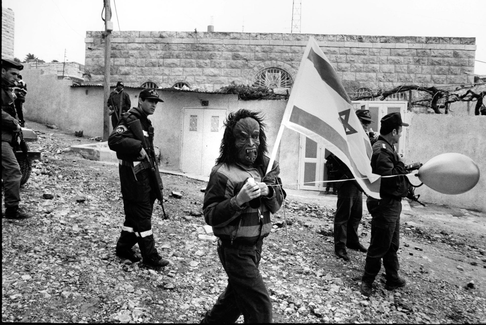 Israeli soldiers in Hebron in the '90s.