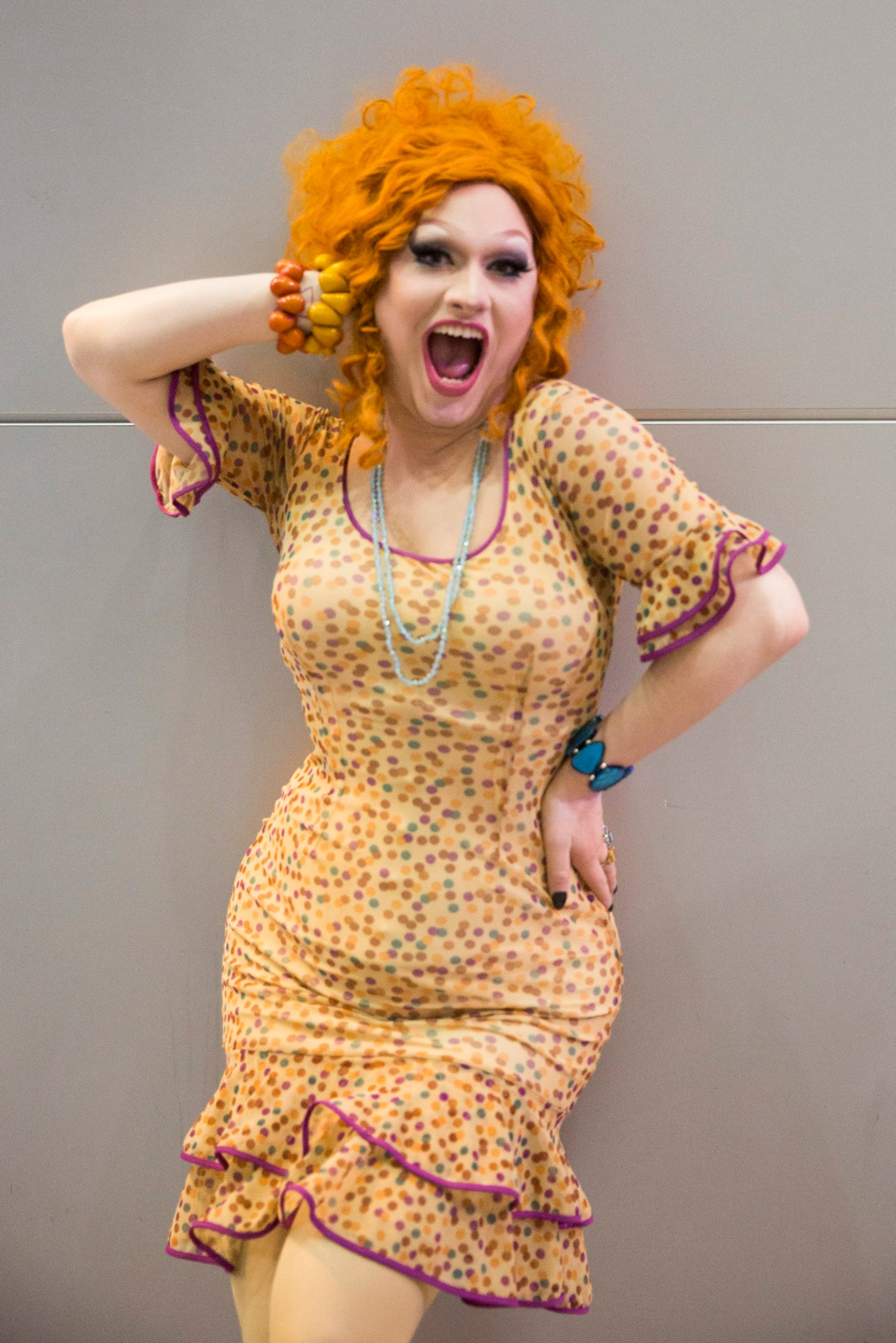 Jinkx Monsoon. 'You create a persona that is not only you in a costume, but it's a whole separate person.'
