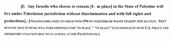 Netanyahu demanded Jewish settlers be allowed to remain in West Bank under future peace deal, but then backtracked, document attained exclusively by Haaretz reveals