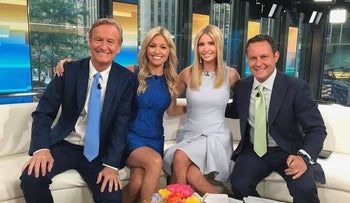 Ivanka Trump's appearance on 'Fox and Friends,' June 12, 2017