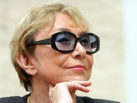 Julia Kristeva at the Rome International Literature Festival, June 21, 2010.