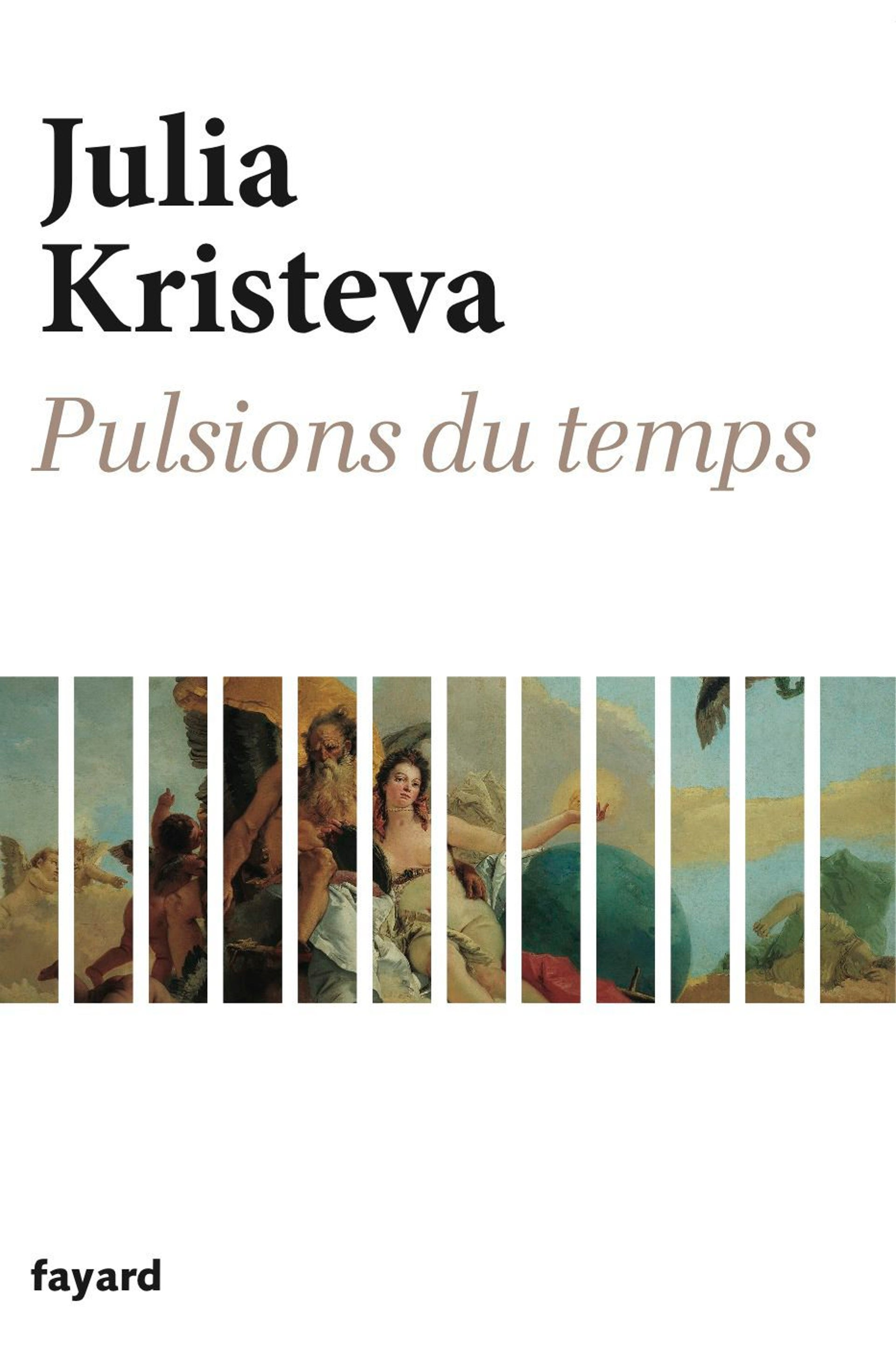 The cover of 'Pulsions du temps.'