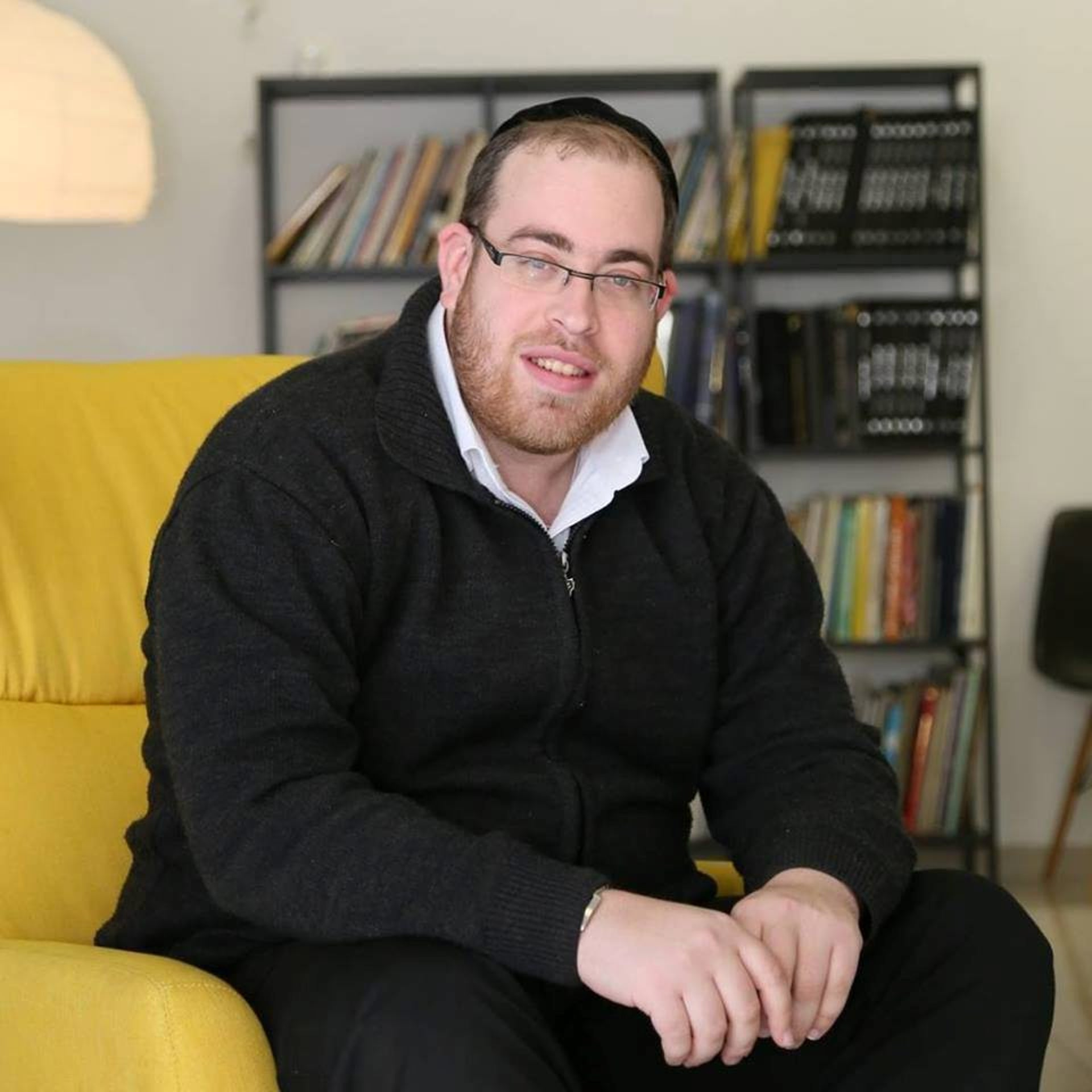 Boaz Ben-Ari, the founder of the Haredim l'Shalom Facebook group, June 2017.