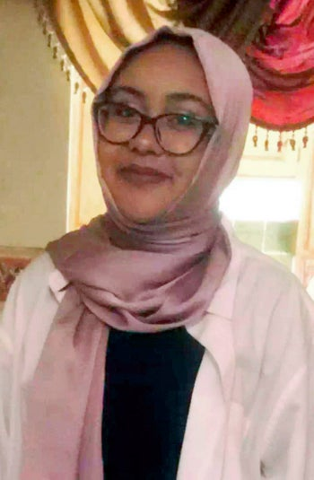 This undated image provided by the Hassanen family shows Nabra Hassanen in Fairfax, Va.