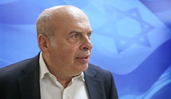 Head of the Jewish Agency, Natan Sharansky, at the government's weekly cabinet meeting, June 25, 2017.