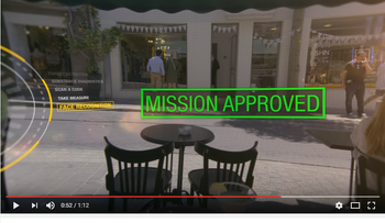 Screenshot from Mossad's Libertad Ventures video