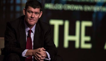 James Packer in China in 2015.