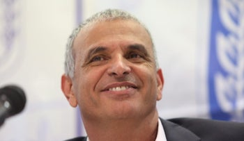 Israeli Finance Minister and Kulanu party leader Moshe Kahlon, March 2017.