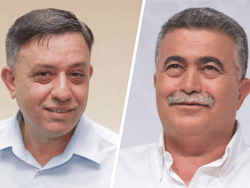 Avi Gabbay and Amir Peretz
