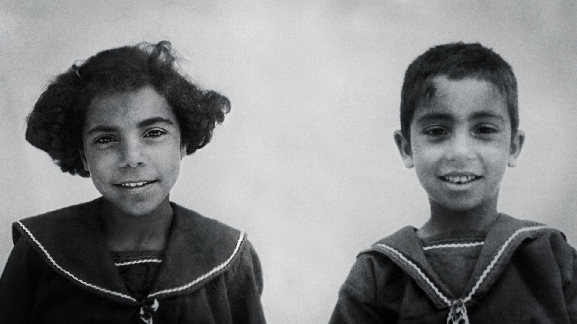 Orphaned children whose parents had been killed at Deir Yassin.