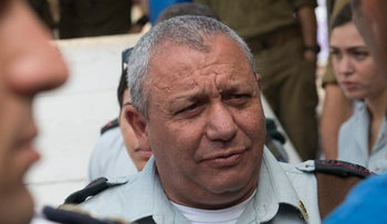 FILE PHOTO: Israeli army Chief of Staff Gadi Eisenkot