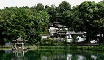 The scenery in Heshun Township of Tengchong County, southwest China's Yunnan Province.
