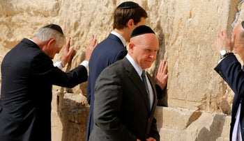 U.S. National Security Adviser H.R. McMaster at the Western Wall in Jerusalem, May 22, 2017.