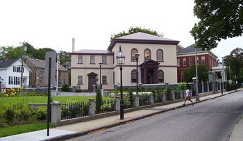 The Touro Synagogue in Newport, Rhode Island.