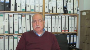 Khalil Tufakji, the head of the Cartographic Section of the Arab Studies Center.