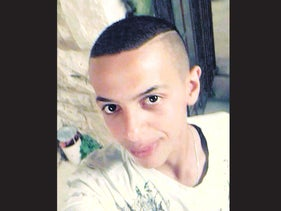 Mohammed Abu Khdeir, selfie, date unknown, published July 7, 2014.