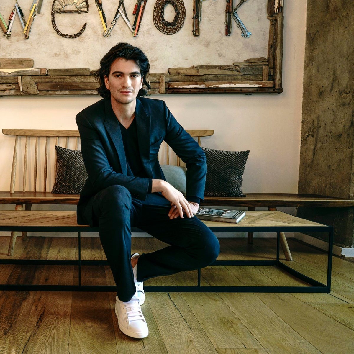 Adam Neumann. According to the Forbes rankings in February, his assets are estimated at $2.4 billion.