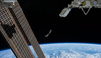 File photo: A satellite in space.
