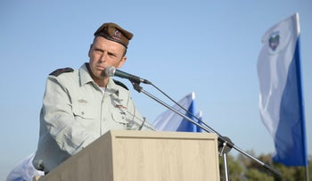 Col. Shai Kleper speaks at an Israeli army ceremony, June 1, 2016.
